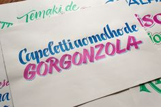 Polenghi – Calligraphy & Lettering on Typography Served