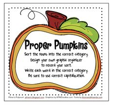 Proper Pumpkins - Freebie