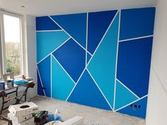 To the guy who said he is a painter, I Wall Painting Living Room, Wall Painting Decor, Room Paint, Interior Painting, Bedroom Wall Designs, Wall Art Designs, Home Decor Bedroom, Sweet Home Design, Home Room Design