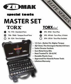 77 Piece Torx Master Set auto tools