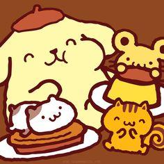 Happy Thanksgiving ٩( 'ω' )و #PomPomPurin