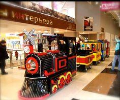 Trenes infantiles para centros comerciales y parques infantiles.  Trenes Eléctricos Infantiles EXPRESSO MAGICO.   www.treneselectricosinfantiles.com    www.expressomagico.com.mx