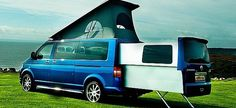 I really want one of these - European Company Extends VW T5 Camper Vans