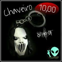 Veja nosso novo produto Chaveiro Slipknot ! Se gostar, pode nos ajudar pinando-o em algum de seus painéis :)