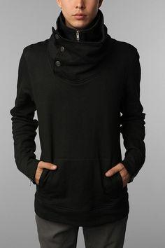 Futuristic Look / LAB:CO by B:SCOTT High-Neck Sweatshirt # ...