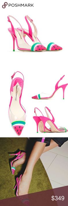 Sophia Webster shoes New with tag. Size 38.5 Runs small. More photos with the actual shoes soon. Sophia Webster Shoes