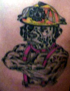 the 35 best fire hat tattoos images on pinterest fire fighters