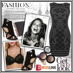 How To Wear Dresslink Outfit Idea 2017 - Fashion Trends Ready To Wear For Plus Size, Curvy Women Over 20, 30, 40, 50