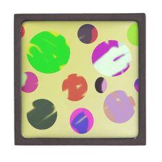 colorful bubble universe abstract art premium trinket boxes