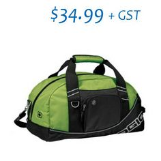 Material: dobby poly Size: x x Front zippered pocket, Standard webbing shoulder strap All metal hardware Side grab handle & Fabr Corporate Style, Half Dome, Gym Bag, Shoulder Strap, Abs, Backpacks, Zipper, Pocket, Duffel Bags