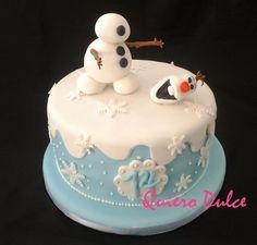 Cómo modelar a Olaf de Frozen y decorar torta | Cocina
