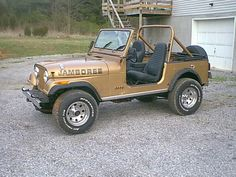 This, folks, is number 0471 of I think 2500 in the commemorative Jamboree trim. Cj Jeep, 2006 Jeep Wrangler, Jeep Cj7, Jeep Garage, Custom Jeep, Jeepers Creepers, Cool Jeeps, Vintage Trucks, Hot Cars