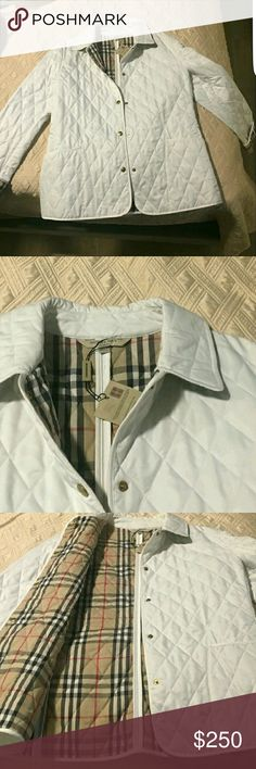 Burberry Quilted Jacket NWT Perfect brand new with the tags never worn pristine condition Burberry Jackets & Coats