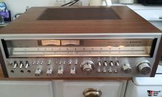 Vintage Sanyo JCX-2900K Receiver, 120 watts/CH at 8 ohm, dual mono-block amp design; $275 OBO