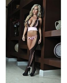 22.99$  Watch here - http://viiwl.justgood.pw/vig/item.php?t=5nn4yx22717 - Cutout Halter Bodystocking w/Sequined Panty Wine O/S 22.99$
