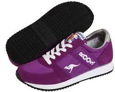 Purple KangaROOS Sneekers