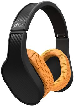 Phaz Over Ear Noise Isolating Headphone with Built in Power Bank to Charge your Phone, Powerful Crystal Clear Sound, Comfortable, Lightweight Built in HD Amplifier and Bass Boost Black Carbon Fiber Best Headphones, Wearable Device, 3d Prints, Living At Home, Audiophile, Carbon Fiber, Digital Camera, Headset, Cell Phone Accessories