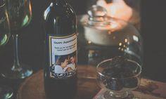 Personalized Wine Label Custom Wine Bottles, Custom Wine Labels, Personalized Wine Bottles, Anniversary, Night, Drinks, Personalized Wine Labels, Drinking, Beverages