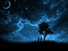 Stand under the stars and watch the universe above you.