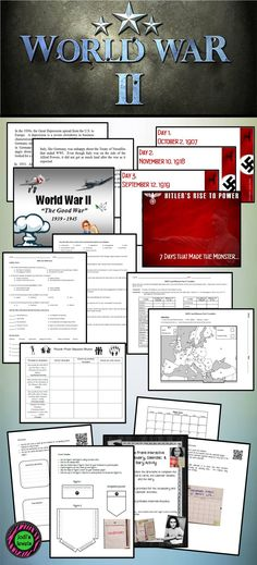 Students of history interactive notebook pages for the great enhance your wwii unit with activities from jodis jewels including overview ppt hitlers rise to power ppt anne frank interactive notebook quizzes gumiabroncs Images