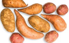 How do I store my potatoes and sweet potatoes for the winter?