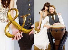 Golden Gypsy Wedding Inspiration | Green Wedding Shoes Wedding Blog | Wedding Trends for Stylish + Creative Brides