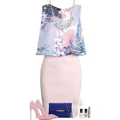 Blossom by daisyfari on Polyvore featuring Boohoo, Christian Louboutin, ALDO…