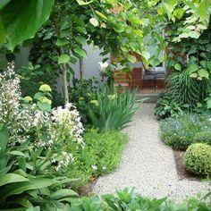 Renata Fairhall Garden Designs - Designing beautiful gardens that are timeless, evocative and sustainable Garden Cottage, Garden Art, Small Gardens, Outdoor Gardens, Low Maintenance Garden Design, Landscape Plans, Landscape Designs, Pond Design, Backyard