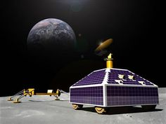 Private Firm's Lunar Landing Will Include Robot Narration and 3-D Video