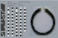 12 around bead crochet rope pattern Bead Crochet Patterns, Beaded Jewelry Patterns, Crochet Designs, Bracelet Patterns, Beading Patterns, Crochet Beaded Bracelets, Bead Loom Bracelets, Beaded Crafts, Spiral Crochet