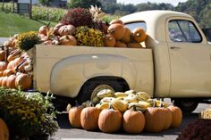 old farm truck...and pumpkins!!