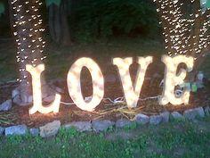 Rajean's backyard wedded bliss