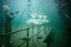 Underwater Human Life Photography