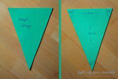 DIY: Fabric Bunting {Wimpelkette nähen} | fight off your demons: DIY: Fabric Bunting {Wimpelkette nähen}