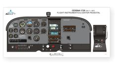 Cessna 172 cockpit seating - Google Search