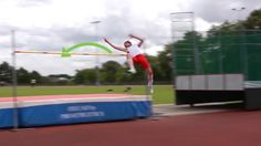 The High Jump is a track and field event in which you must jump over a horizontal bar at different heights. For high school girls, the heights usually begin at and increase by after the athlete clears the bar. For high school boys the. High School Girls, School Boy, High Jump, Track And Field, Drills, In The Heights, Athlete, Bar, Track Field