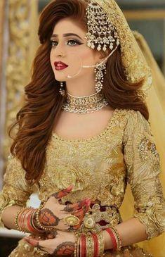 48638882 Latest Pakistani Bridal 2018 by Kashee's bridal makeup ideas 2018 - Makeup Ideas Pakistani Bridal Hairstyles, Pakistani Bridal Makeup, Pakistani Wedding Outfits, Bridal Outfits, Bride Hairstyles, Kashees Hairstyle, Pakistani Jewelry, Wedding Hairstyle, Pakistani Dresses