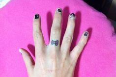 Halloween nails #nailart #nailartperu #uñasmaniatikas #notd #halloweennails #creepynails