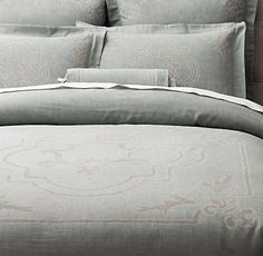 $209-$278 - bedding for MBR- Italian Baroque Medallion Duvet Cover, 2 other colors available