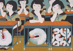 sardinesbizarres:  Akino Kondoh