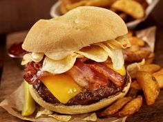 The 25 Most Addictive Foods...it includes burgers, pizza, and French fries...
