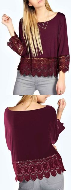 Plus Size Blouses In Stock Now at Choies.com! this is a must have in fall!