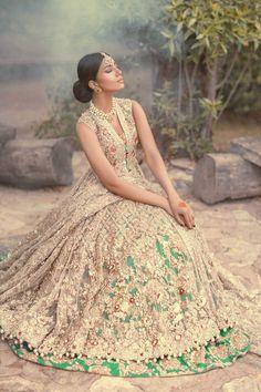 Jasmine Court by Elan, Pakistani designer, wedding dress, bridal