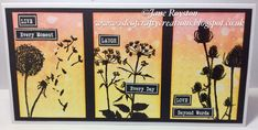 By Jane Royston using Bee Crafty silhouette stamps Beyond Words, Handmade Cards, Stamps, Bee, Gallery Wall, Silhouette, In This Moment, Crafty, Frame