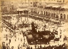 Le carnaval de Nice en 1890