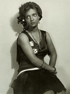 Nina Mae McKinney - one of the first African American leading actresses