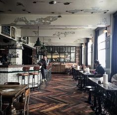 with-grace-and-guts:   Kex Hostel ~ Beth Kirby //... - The Black Workshop