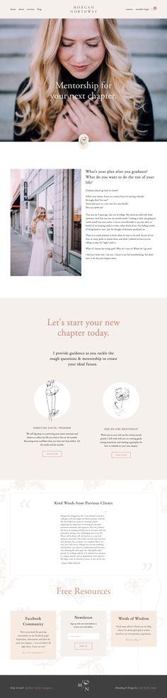 Morgan Northway Branding & Website by Little Trailer Studio