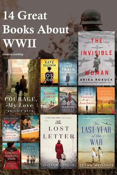 Searching for historical fiction books about women to read next? These novels about WWII feature topics like female code breakers and the Women's Air Raid Defense. Full of fantastic book club ideas! #books #historicalfiction #WWII