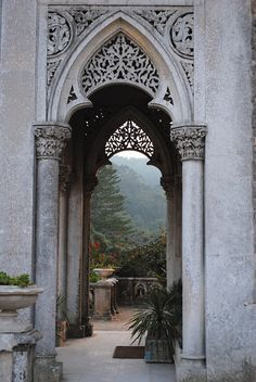 Beautiful Architecture on these Outdoor Archways!